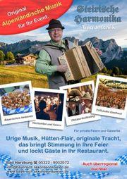 Akkordeon Alpin Alleinunterhalter mit original
