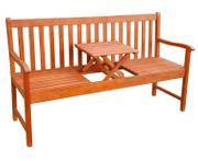 Gartenbank mit Tisch NEU