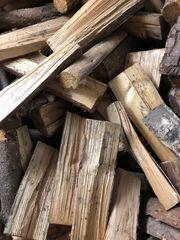 Brennholz ofenfertig und trocken - Feuerholz