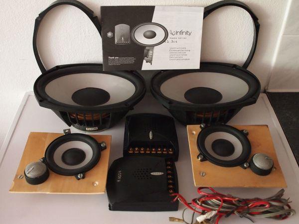 Infinity Kappa 1.3 cs Car Hifi 3-Wege Soundsystem Highend Auto ...