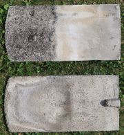 Dachziegel Beton Zement