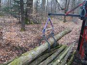 Rückezange Holzzange Holzgreifer