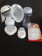 Set: Handmilchpumpe NUK