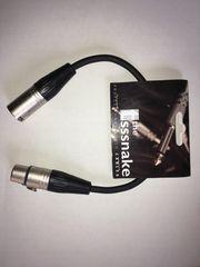 Profi XLR-Kabel the sssnake SK233-0