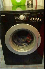 Waschmaschine schwarz