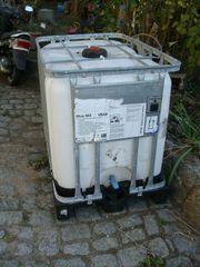 Regenwassertank Wassertank auf Palette 600l