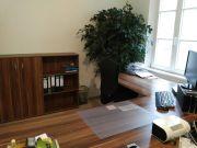 Komplette Büroeinrichtung nussbaum