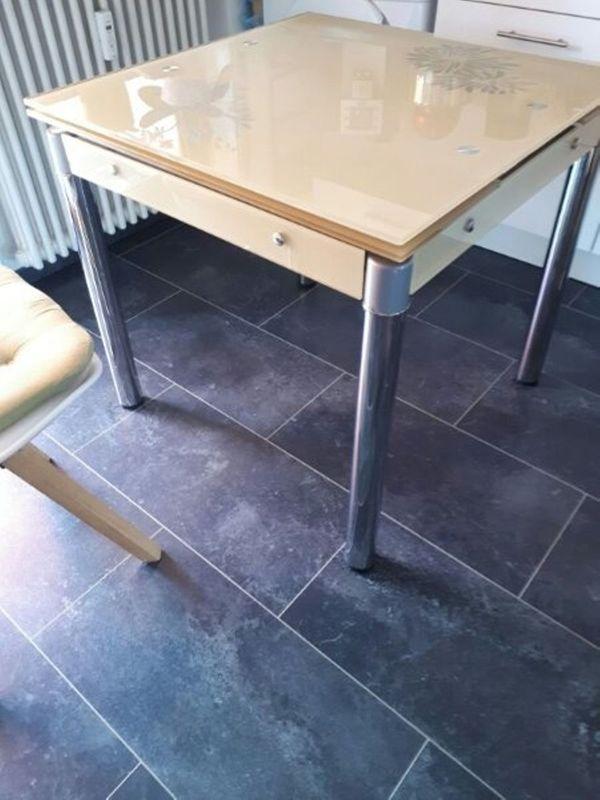 Glastisch Küchentisch 80x131 » Speisezimmer, Essecken