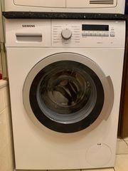 Kombination aus Siemens Waschmaschine varioPerfect
