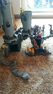 Playmobil Ritterburg Mittelalter mit Lego