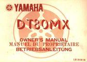 Bedienungsanleitung Yamaha DT