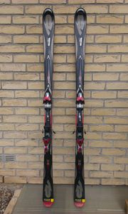 Carving-Ski, schwarz,