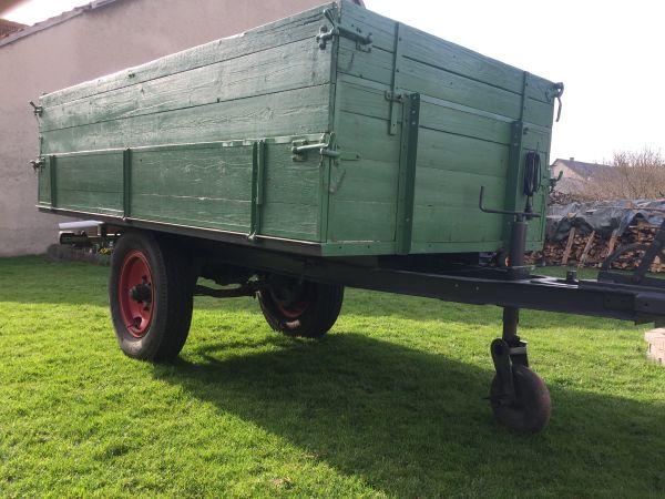 traktor anh nger einachser in steinheim anh nger. Black Bedroom Furniture Sets. Home Design Ideas