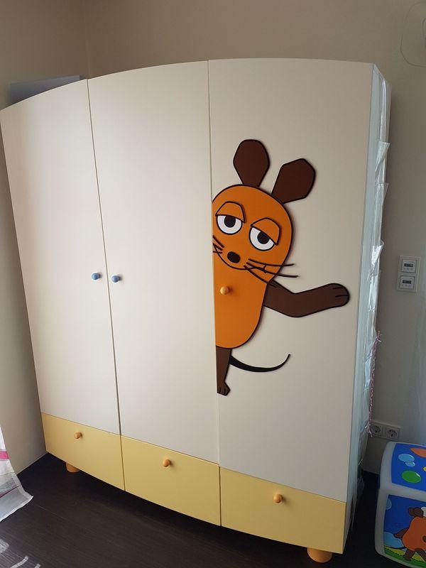 Komplette Kinderzimmereinrichtung Sendung Mit Der Maus In