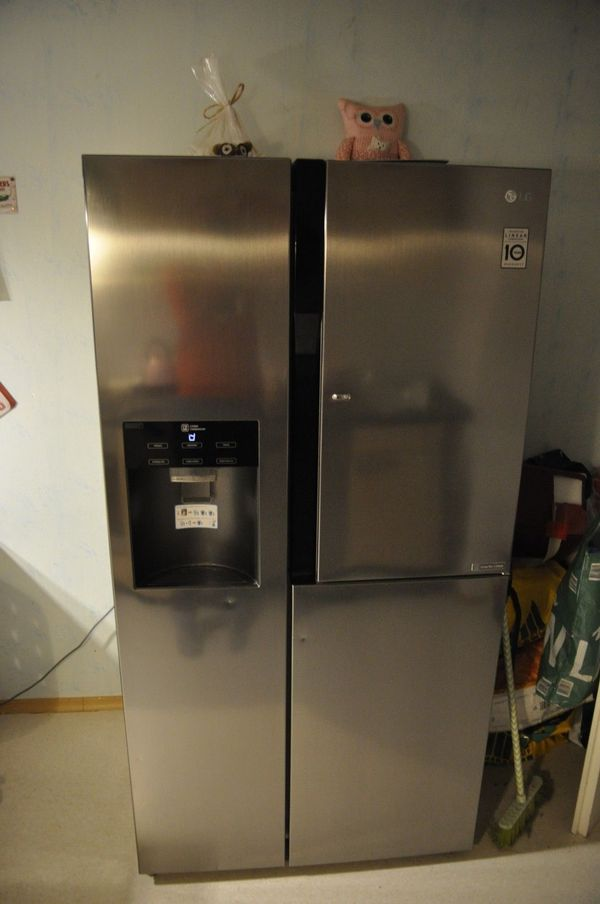 Kühlschrank Mit Eiswürfel kühlschrank lg kühl gefrier kombination gs 9366 pzyzd side by side