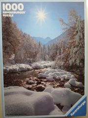 Ravenburger Puzzle 1000 Teile Winter