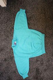 Sweatshirt Gr 86 NEU smaragdgrün