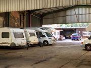 Dach Stellplätze für Wohnmobile Caravan