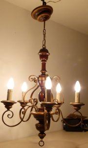 Lüster Kronleuchter Deckenleuchte Deckenlampe rustikal