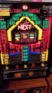 Spielautomat Merkur Next mit Stand