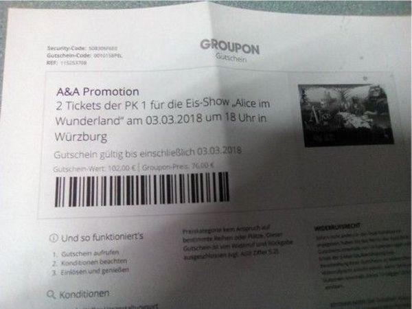ALICE IM WUNDERLAND » Eintrittskarten