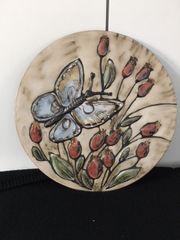 Rundes Keramik Bild