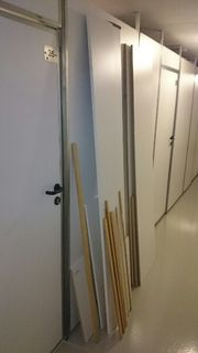 Neuwertige Spanplatten Holzleisten Holzplatten Möbelplatten