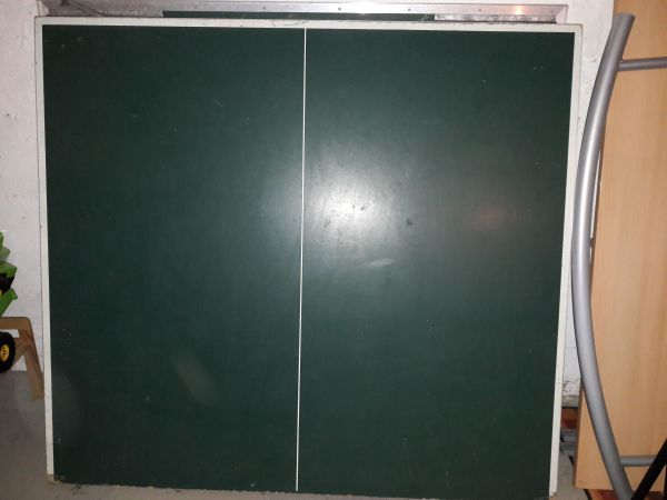 Tischtennisplatte, grün » Tennis, Tischtennis, Squash, Badminton