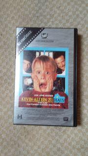 VHS Video Kevin allein zu