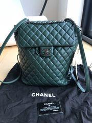 Authentischer SELTENER Chanel Khaki grüner