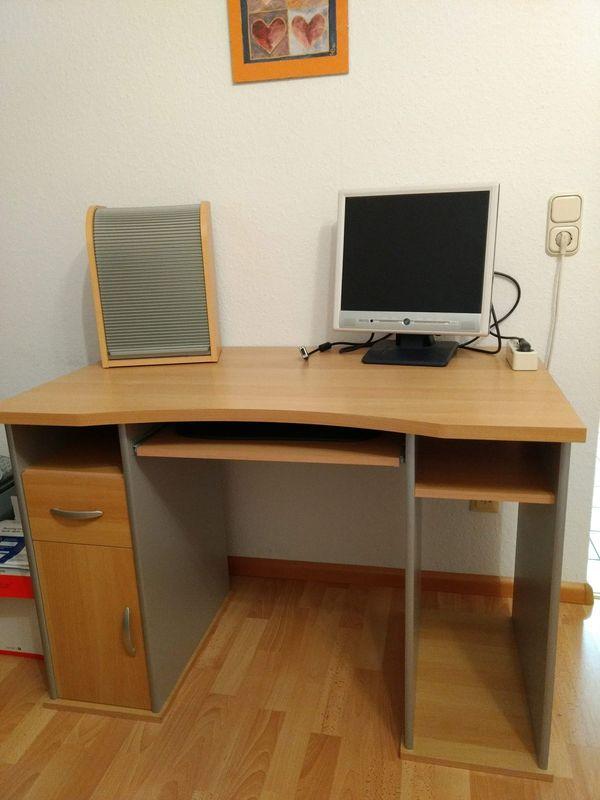Computertisch buche kaufen computertisch buche gebraucht for Computertisch in buche