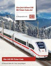 1x LIDL DB Ticket Freifahrt -