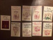 Selbstgestaltete Weihnachtskarten
