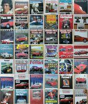 46 Bücher Automobil Motorsport Ferrari