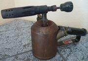 Benzin-Lötlampe