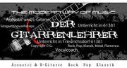 PROFESSIONELLER Gitarrenunterricht für Kinder Jugendliche