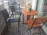 Mobiliar für Balkon