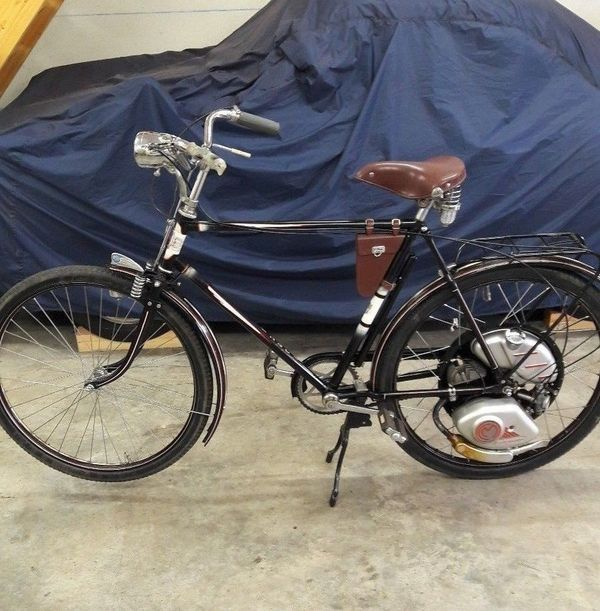 fahrrad oldtimer nsu hilfsmotor motorfahrrad in dortmund. Black Bedroom Furniture Sets. Home Design Ideas