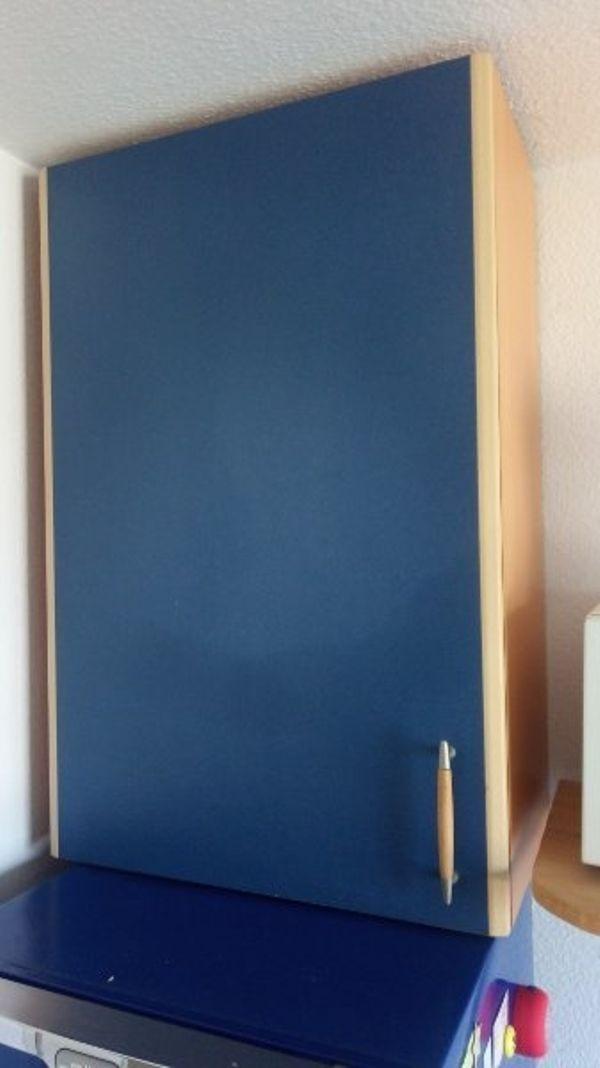 Küchen Hängeschrank azurblau (Frankenthal) - Sonstige - dhd24.com
