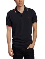 Fred Perry M1200 Navy Rot-Weiß -