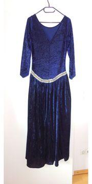 dunkelblaues Mittelalterkleid von Shetlan ca