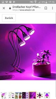 LED Pflanzen Lampe
