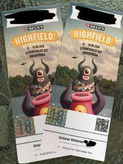 2x Kombitickets Highfield Festival 17