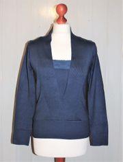 Pullover in Wickeloptik von Blanche