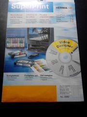 Herma Etiketten Videokassetten 325 Software