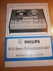 Philips Tonbandgerät N