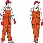 Zwei arbeitswillige Männer