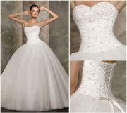 Brautkleid, Hochzeitskleid, Gr.