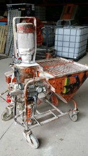 PFT G4 Gipsomat MSX Fliesestrichmaschine