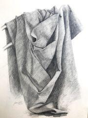 Kunst Gemälde Bleistift
